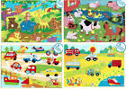 A to Z Children s 24 Piece Wooden Jigsaw Puzzles Various Designs Educational Toy