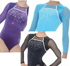 GYMNASTICS LEOTARD / LEOTARDS ZONE DESTINY  LONG SLEEVE SIZES 26, 32  34, 36,38