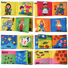 Soft Cloth Picture Cognize Book Baby Intelligence Development Books for Baby SR