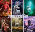 NEW ANNE STOKES GREETINGS CARD CARDS WICCA PAGAN GOTH FAIRY DRAGON UNICORN