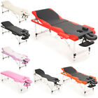 2/3 Section Folding Mobile Beauty Salon Massage Bed Portable Table Chair Bench
