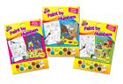 Kids Childrens Paint By Numbers Painting Brush & Colours A4 Designs Tallon