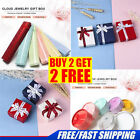 Long gift box for necklace or bracelet or pen - many styles and colours 4 TYPES