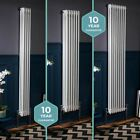Traditional Vertical Tall Column Radiators Central Heating Cast Iron Style White