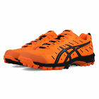Asics Mens Gel-Hockey Neo 3 Hockey Shoes Pitch Field Orange Sports Breathable