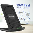 Qi Charging Stand Wireless Fast Charger Docking Station For iPhone X XR XS MAX