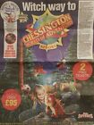 Chessington World Of Adventures Tickets x 2 worth £95, Booking Form + 10 tokens