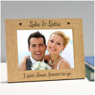 Personalised Wedding Anniversary Gifts Husband Wife Couples Mr Mrs 1st 5th Wood