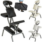 PORTABLE FOLDING MASSAGE TATTOO CHAIR THERAPY BEAUTY STOOL ADJUSTABLE