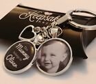 Personalised Photo Keyring - Belongs to - Birthday Present Fathers Day - Box