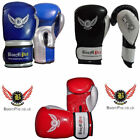 18oz Boxing Gloves MMA Training Mitts Fight Punch Bag Sparring Training 16 12 oz