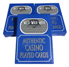 *** WILD WILD WEST *** LAS VEGAS CASINO PLAYING POKER CARDS CHOOSE QUANTITY