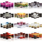 Unframed Abstract Modern Art Painting Canvas Panel Picture Wall Hanging Decor