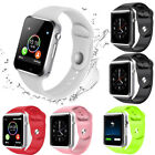 Waterproof A1 Smart Watch Bluetooth GSM Sim Phone Camera For Android/iOS NEW UK