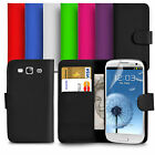 For Samsung Galaxy S3 (I9300) PU Leather Wallet Case Cover With Screen Protector