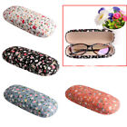 Portable Sunglasses Hard Eyeglasses Case Glasses Protector Box Floral Pouch Bag