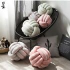 Knot Ball Cushion Pillow Solid Color Stuffed Toys Kid Adult Bedroom Decoration