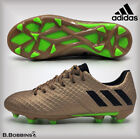 Adidas MESSI 16.1 FG Copper Football Boots Boys Girls Size UK 11 12 13 1 2 3 4 5