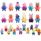 25Pcs Peppa Pig Family&Friends Emily Rebecca Suzy Action Figures Toys Kids Gift