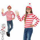 Kids Wheres Wally Instant Kit Book Week Day Boys Girls Child Fancy Dress Outfit