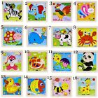 Cartoon Wooden 3D Puzzle Jigsaw Animal Puzzles for Children Baby Toy