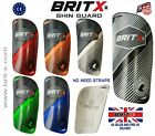 Shin Pads Charge Football Soccer Hockey Ankle Protectors Guards Youth Kid BRITX®