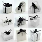 GLOSSY PURE WHITE Range - Luxury DIY Wedding Party Gift Favour Boxes - Box Only