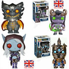 Funko POP&World of Warcraft ILLIDAN ARTHAS SYLVANAS DEATHWING Vinyl Figure Toys