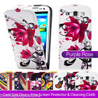 ULTRA THIN LEATHER FLIP CASE COVER FOR SAMSUNG GALAXY S3 I9300 SCREEN PROTECTOR