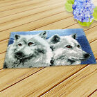 Wolf/Puppy/Dog Latch Hook Rug Kits Warm Carpet Making DIY Gift for Kids Adults