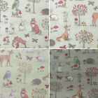 """Lifestyle Woodland Animal 100% Cotton Fabric for Cushions, Upholstery 54"""" Width"""