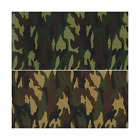 100% Cotton Poplin Fabric Rose & Hubble Army Camouflage Military Jungle Woodland
