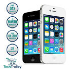 Apple iPhone 4 (iPhone four) 8GB 16GB White Black & 12 Month Warranty
