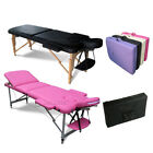 FoxHunter Portable Folding Massage Table - Beauty Salon Tattoo Therapy Couch Bed