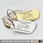 Personalised Valentines Gift Keyring The Day You Became My.. Army Card Key Chain