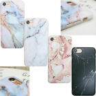Soft Pastel Marble Pattern Cover Case Shockproof For iPhone X 6 6s 8 7 Plus 5 SE