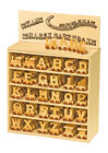 Christening Gifts Personalised Wooden letters train for baby name train