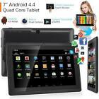 7 Inch Android Tablet 8GB Quad Core 4.4 Dual Camera Bluetooth Wifi Tablet UK