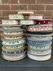 East Of India Ribbon ~ Polka Dots ~ Gingham ~ Stripes ~ Words ~ Hearts ~ Etc