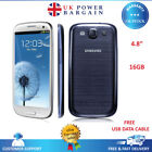New Samsung Galaxy S3 GT-I9300 - 16GB - Unlocked Black,Blue White- Handset Only