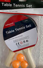 New Table Tennis Sets Bats Balls Net Poles Clamps 2 Players Ping Pong Racket