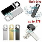 Metal USB Flash Drive Memory Stick Storage Thumb Key U Disk Waterproof 1TB 2TB