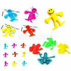 Stretchy Toys Assorted Smiley Man Frog Kids Birthday Party Loot Bag Fillers