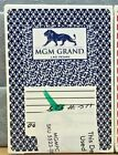 MGM GRAND HOTEL& CASINO, LAS VEGAS - USED, RESEALED, POKER SIZE PLAYING CARDS