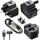 SAMSUNG GALAXY TAB 2 10.1 / 8.9 / 7.0 PLUS MAINS 2A WALL CHARGER + USB 2.0 CABLE