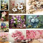 UK Blossoms DIY Digital Oil Painting Kits Paint by Numbers Canva Wall Home Decor