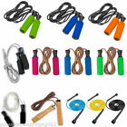 Skipping Speed Rope Fitness Boxing Leather Jump Jumping Gym Crossfit Adult