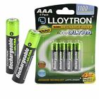 Lloytron AAA Rechargeable Batteries NiMH 1100mAh Cordless Phone Remote HR03