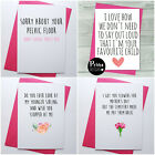 FUNNY rude MOTHERS day cards, humor cheeky witty hilarious for mum mother s day
