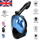 Adult Kids Swimming Full Face Mask Surface Diving Snorkel Scuba For GoPro Breath